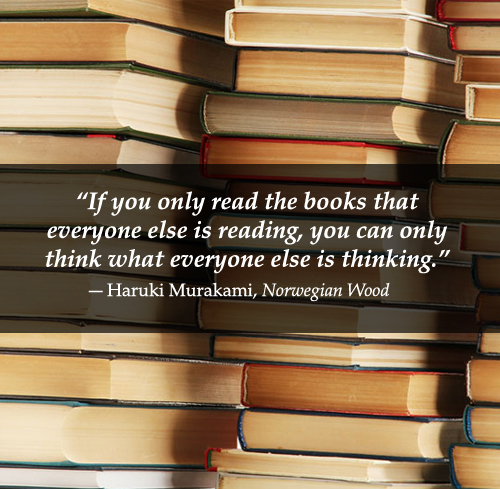 if you read only the books...