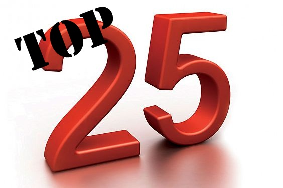 2013 Top 25 (1/2)